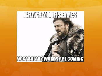 100 Days of Vocabulary for Middle School
