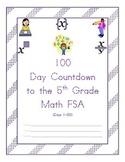 100 Day Countdown to the Math FSA - 5th Grade (Days 1-50)