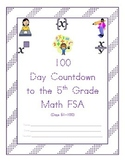 100 Day Countdown to the Math FSA - 5th Grade (Days 51-100)