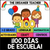 100 Días de Escuela: actividades y hojas de trabajo