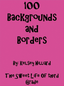 100 Different Page Backgrounds and Borders (Stripes, Polka