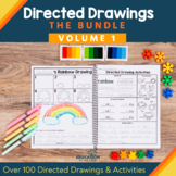 100 Directed Drawings Bundle   Summer   End of the Year Activities