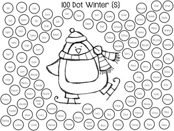 100-Dot Articulation Print & Go Worksheets for the Year!