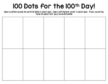 100 Dots for 100 Days