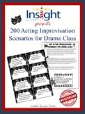 200 Acting Improvisation Scenarios for Drama Class