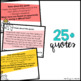 100 Editable Growth Mindset Writing Prompt Slides {Cactus Theme}