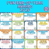 100 End of Year/Year End Awards/Fun Awards - Colorful Polka Dots Stripes