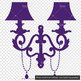 100 European Wall Lamp Clip Arts Antique Vintage Decor