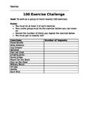 100 Exercise Challenge