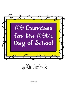 100 Fun Exercises for the 100th Day of School