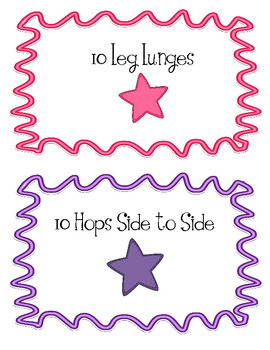 100 Exercises for the 100th Day of School