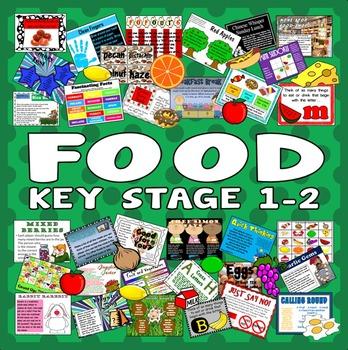100 FOOD ACTIVITIES TASKS GAMES -key stage 1-2 RESOURCES HEALTHY EATING