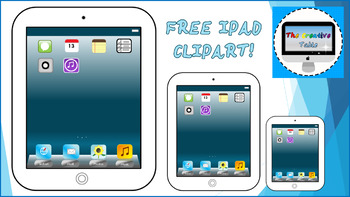iPad Clip Art- 100% Free Commercial or personal use