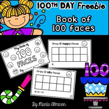 100 Faces Mini-Book {FREEBIE}