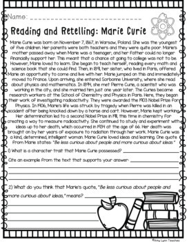 100 Fifth Grade No Prep Language, Reading, Writing, & Math Anytime Printables