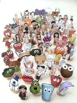 100 Finger Puppets bundle