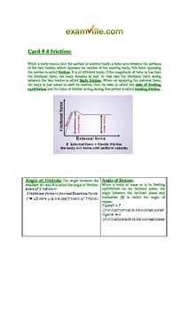 100+ Flash Card Style Review of Important Physics Concepts (Study Aid / Handout)