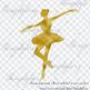 100 Foil Ballet Dancer Clip Arts Fairy Tale Princess Royal Clip Arts