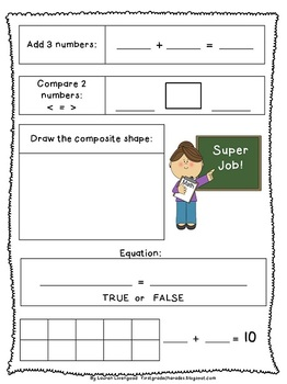 {100 Follower Freebie!!}  Math Reporter Pages - Aligned to Common Core