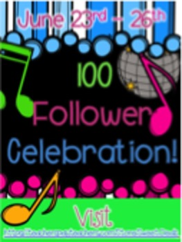 100 Followers Celebration
