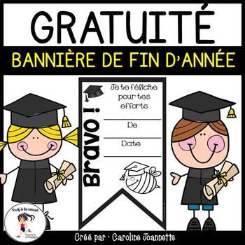 100 Followers FREEBIE - End of Year banners/ GRATUIT - Bannières de fin d'année