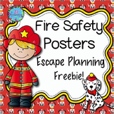 Fire Safety Activities Escape Planning Posters! FREEBIE!