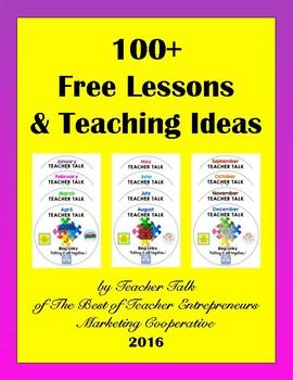 100+ Free Lessons & Teaching Ideas By Teacher Talk - 2016