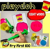 100 Fry Words Stamping Playdoh Literacy Center