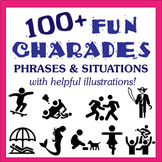 Charades with Fun Illustrations - Perfect for Drama and ES