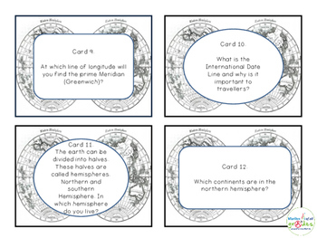 100 Geography Task Cards