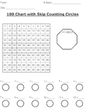 100 Grid For Skip Counting and Multiplication