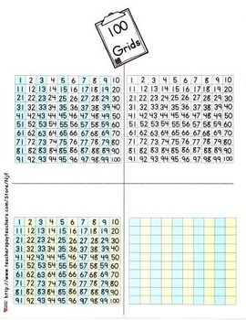 100 Grids -Small Size Set