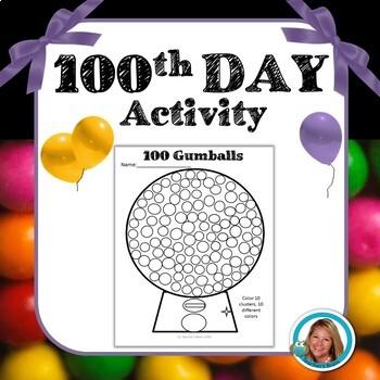 100 Gumballs by Teacher's Brain
