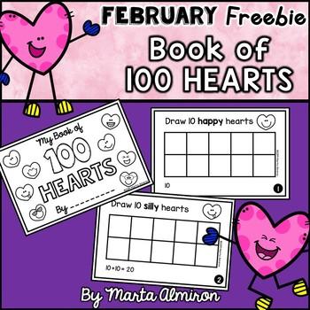 100 HEARTS Mini-Book {VALENTINE'S DAY FREEBIE}