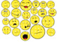 100+ Hand Drawn Clip Art Emoji Smiley Face Personal and Commercial Use