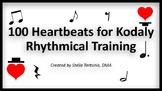 100 Heartbeats for Kodaly Rhythmical Training