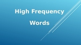100 High Frequency Words