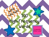 100 High-Frequency Words: Write, Add, Build