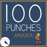 100 Hole Punches: Apraxia & Severe Phonological Disorders | CVC, CVCV Artic