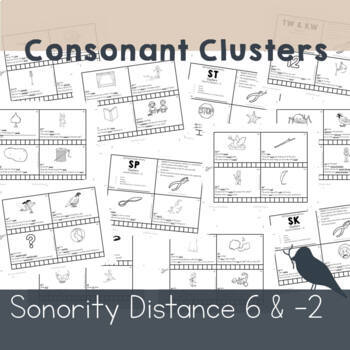 100 Hole Punches: Cluster Reduction S R N L blends - Phonological Speech Therapy