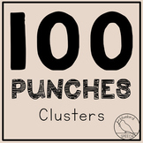 100 Hole Punches: Cluster Reduction S R N L blends - Phono