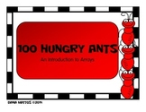 100 Hungry Ants Array Activity