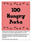 100 Hungry Ants (Counting & Exchanging to 100)