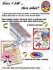 """100 """"I AM"""" Interactive Task Cards - Brain Fact on Each"""