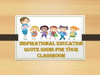 100 Inspirational Education Quote Signs For Your Classroom
