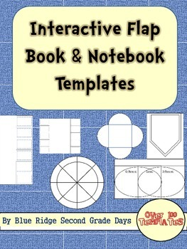 100+ Interactive Notebook Flip Flaps and Foldables Clip Art Set
