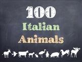 100 Italian Animals PowerPoint