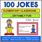 100 Jokes for the Elementary Classroom or Family Fun
