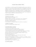 100 Journal Entries for Spanish 3/4 Las composiciones