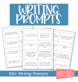 100+ Journal Prompts
